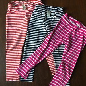 5 pairs of girls leggings